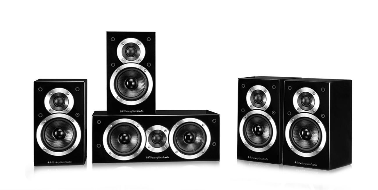Kolumna głośnikowa Wharfedale MOVIESTAR DX-1SE 5.0 czarny