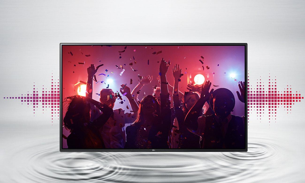 Telewizor LG 43LH510V z mocnym dźwiękiem