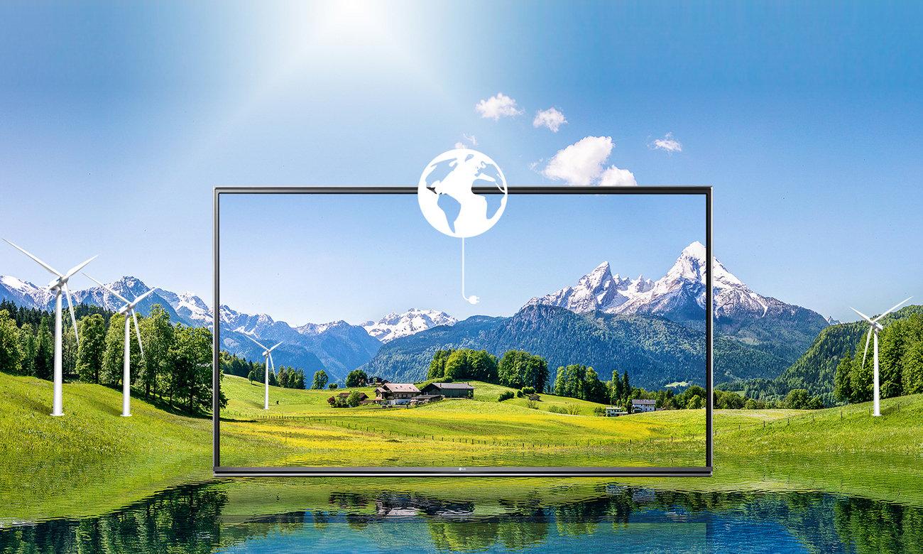Oszczędzaj energię z telewizorem LG 43LH510V