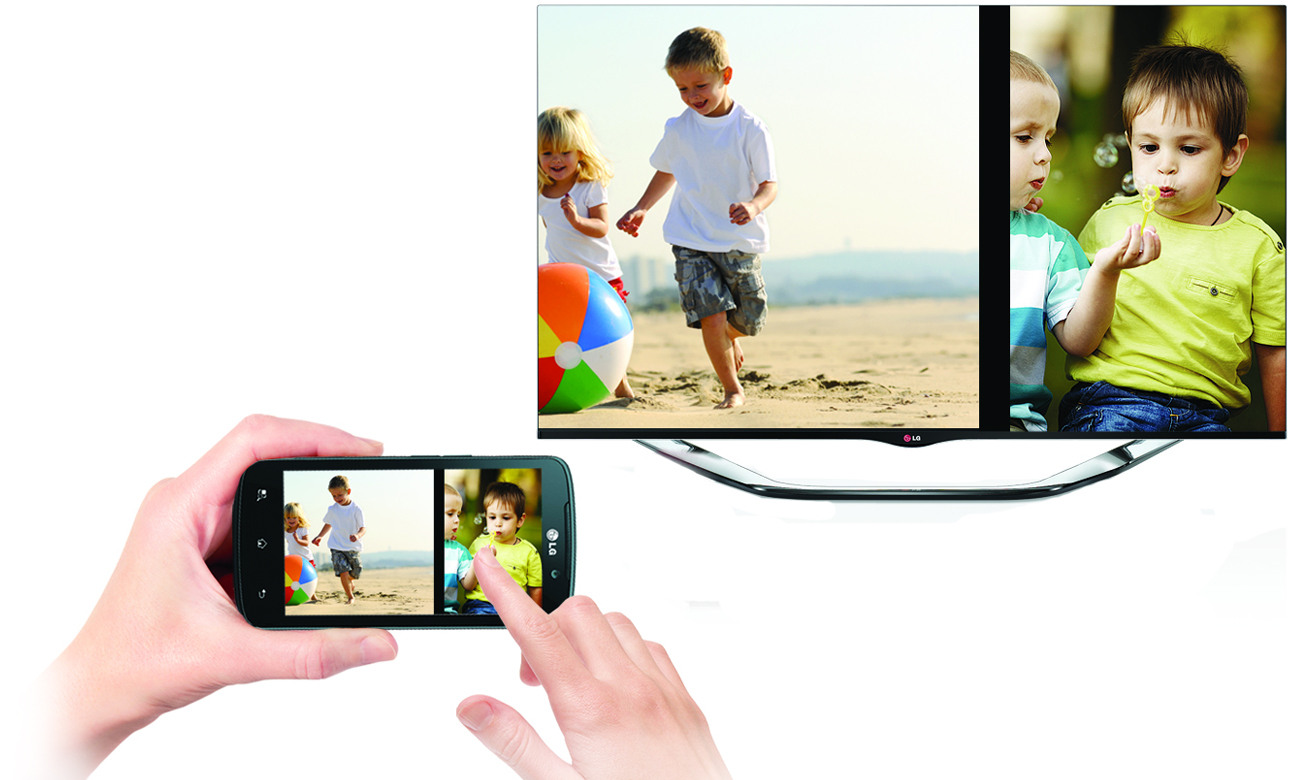Funkcja Miracast w telewizorze 49UH603V LG 55 cale