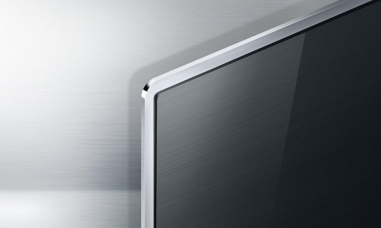 Metalowa konstrukcja telewizora LG 55UH6257