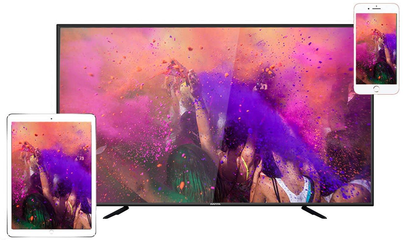 Łączność Wi-Fi w telewizorze Manta 65LUA58L