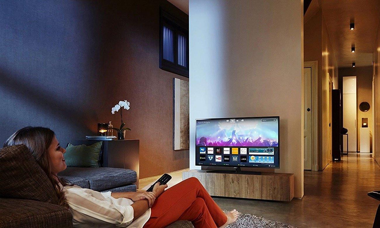 Aplikacje w telewizorze Philips 43PUS6503