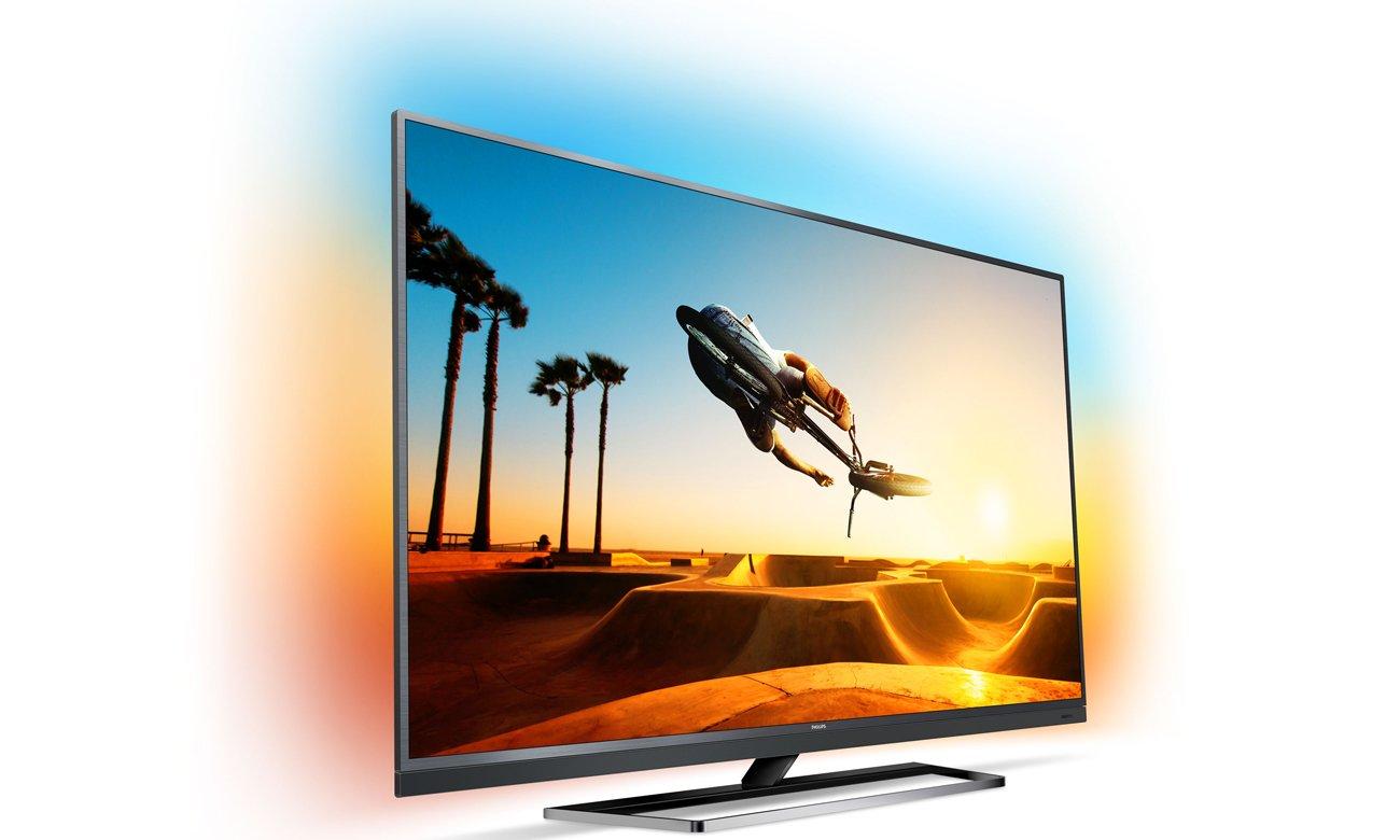 Elegancki telewizor Philips 49PUS7502