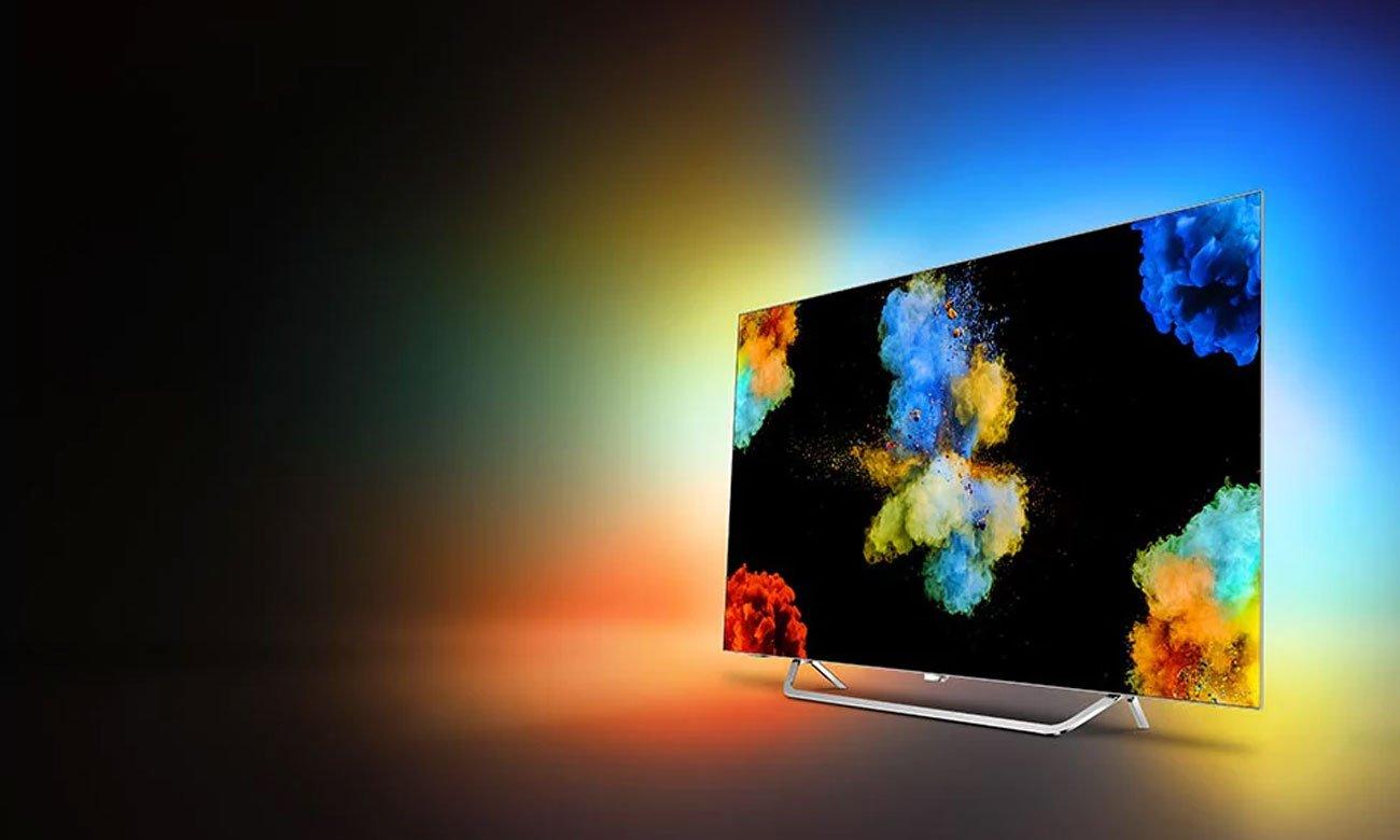 Elegancki telewizor OLED Philips 55POS9002