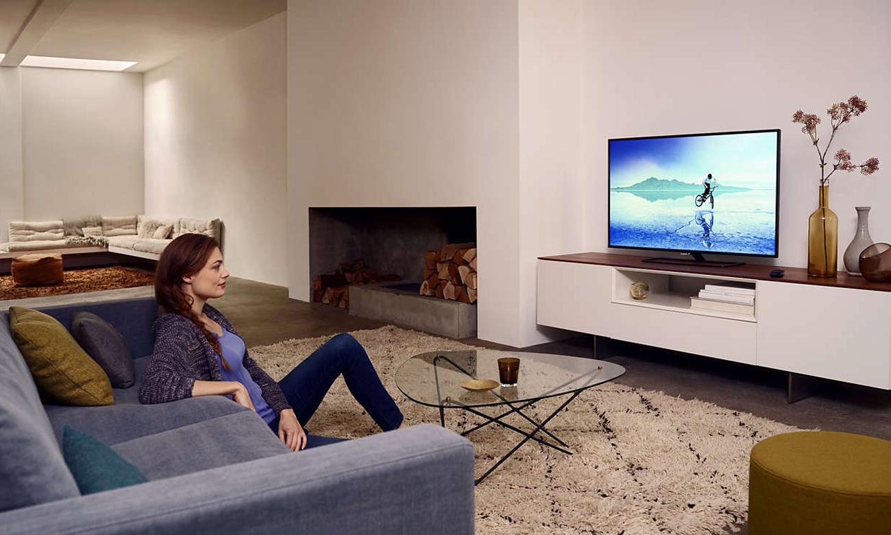Wysoka jakoś obrazu w telewizorze 55PUS6031 Philips