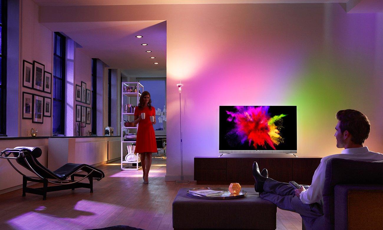 Wysoka jakość obrazu w telewizorze Philips 55PUS6401