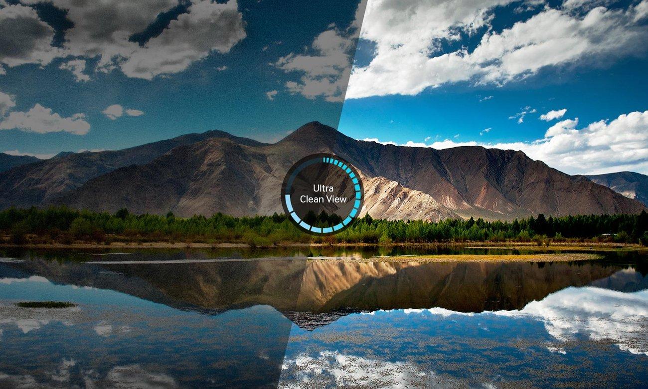 Technologia Ultra Clean View w telewizorze Samsung UE43KU6000