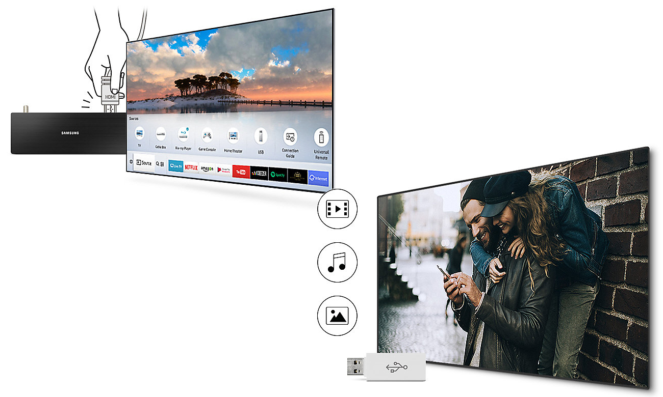 Telewizor Smart TV Samsung UE55M6302