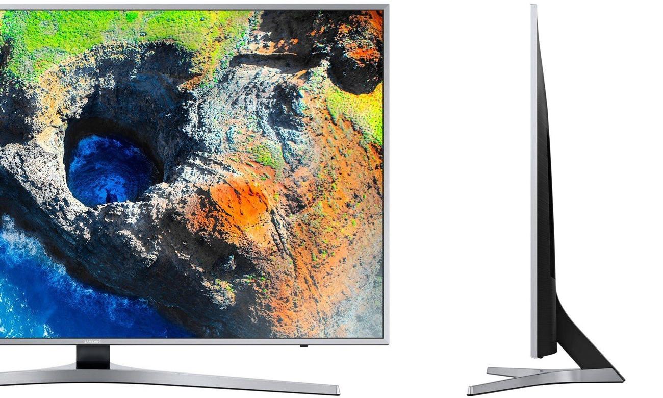 Elegancki telewizor Samsung UE55MU6402