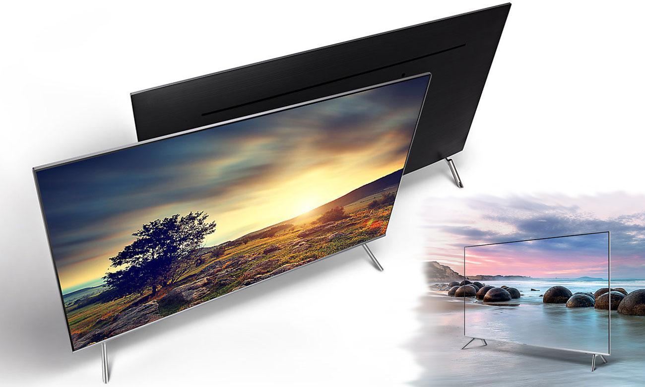 Nowatorska koncepcja wzornicza Samsung UE55MU7002