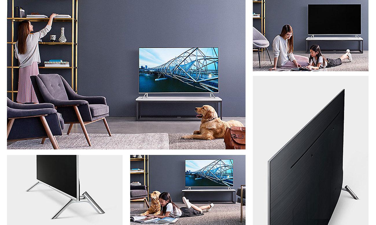 Elegancki telewizor Samsung UE55MU7002