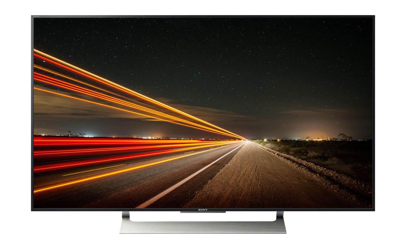 Płynny obraz na ekranie telewizora Sony 55XE9005