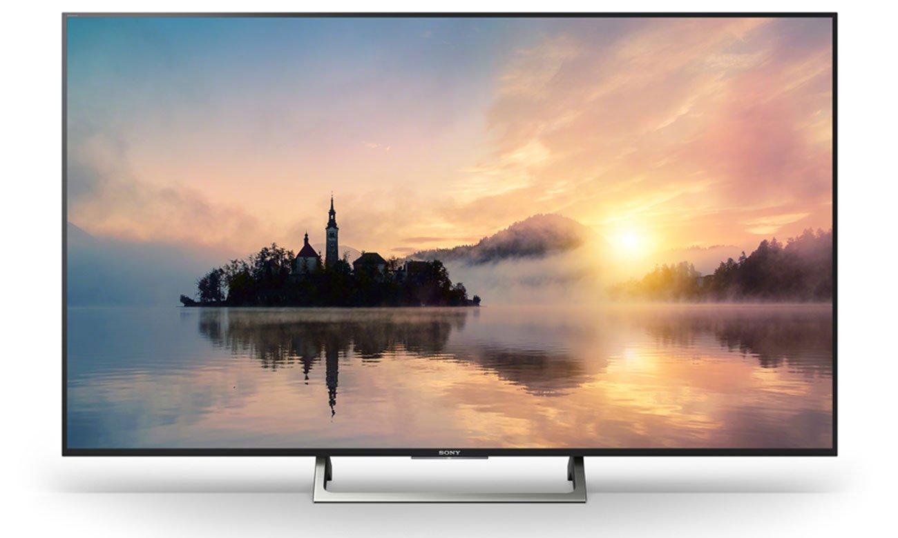 Płynny obraz na ekranie telewizora Sony KD-55XE7005