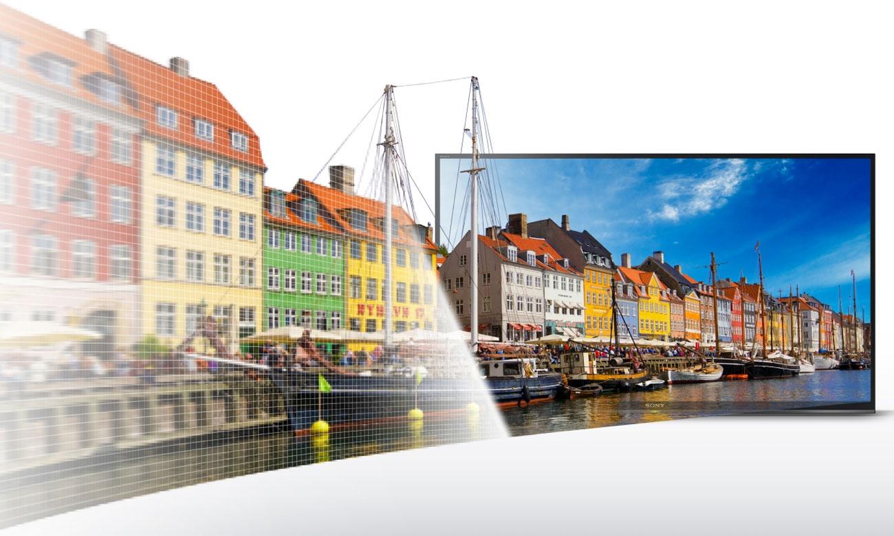Technologia X-Reality PRO w telewizorze Sony KDL-43WE750