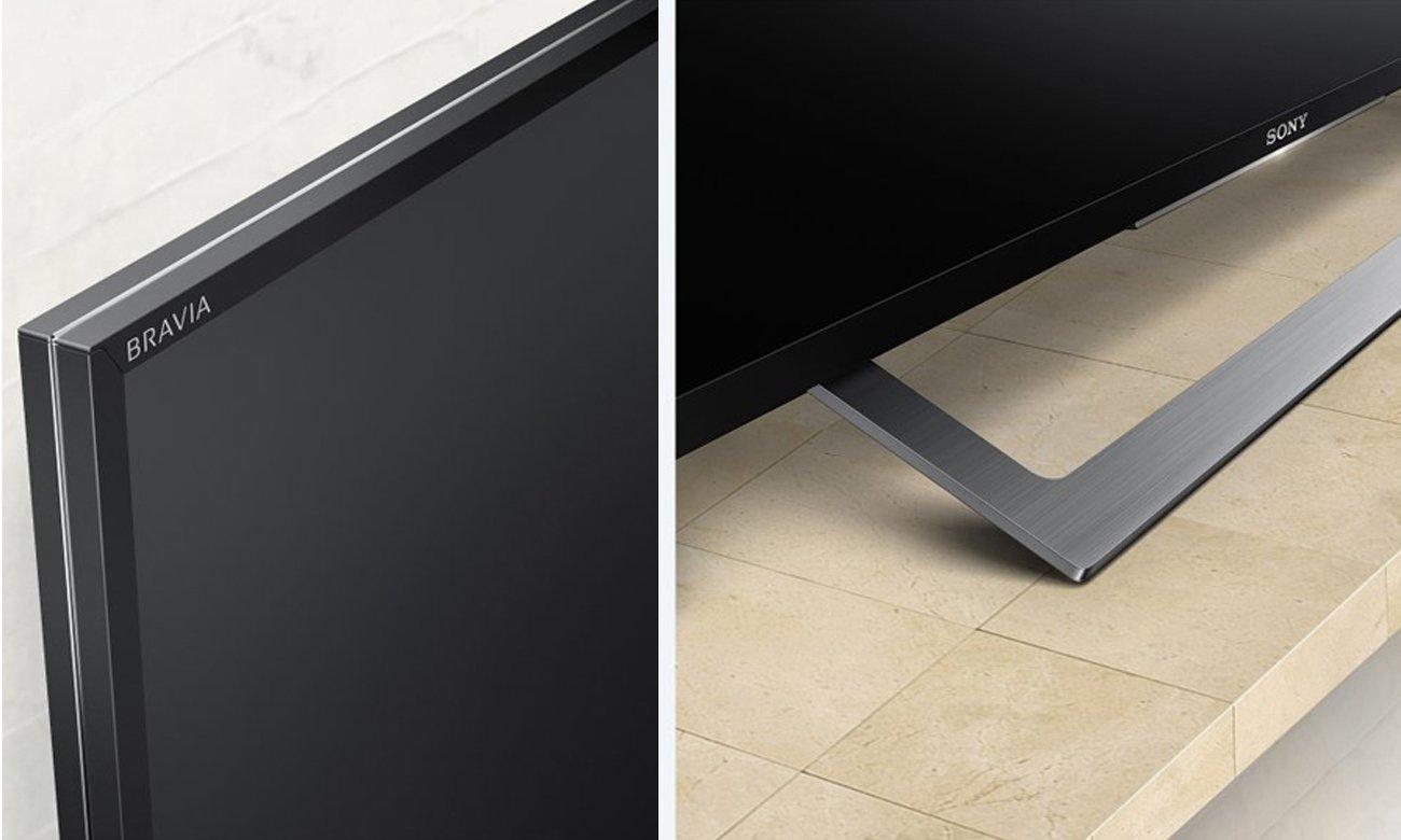 Smukły telewizor Sony KDL-49WD755