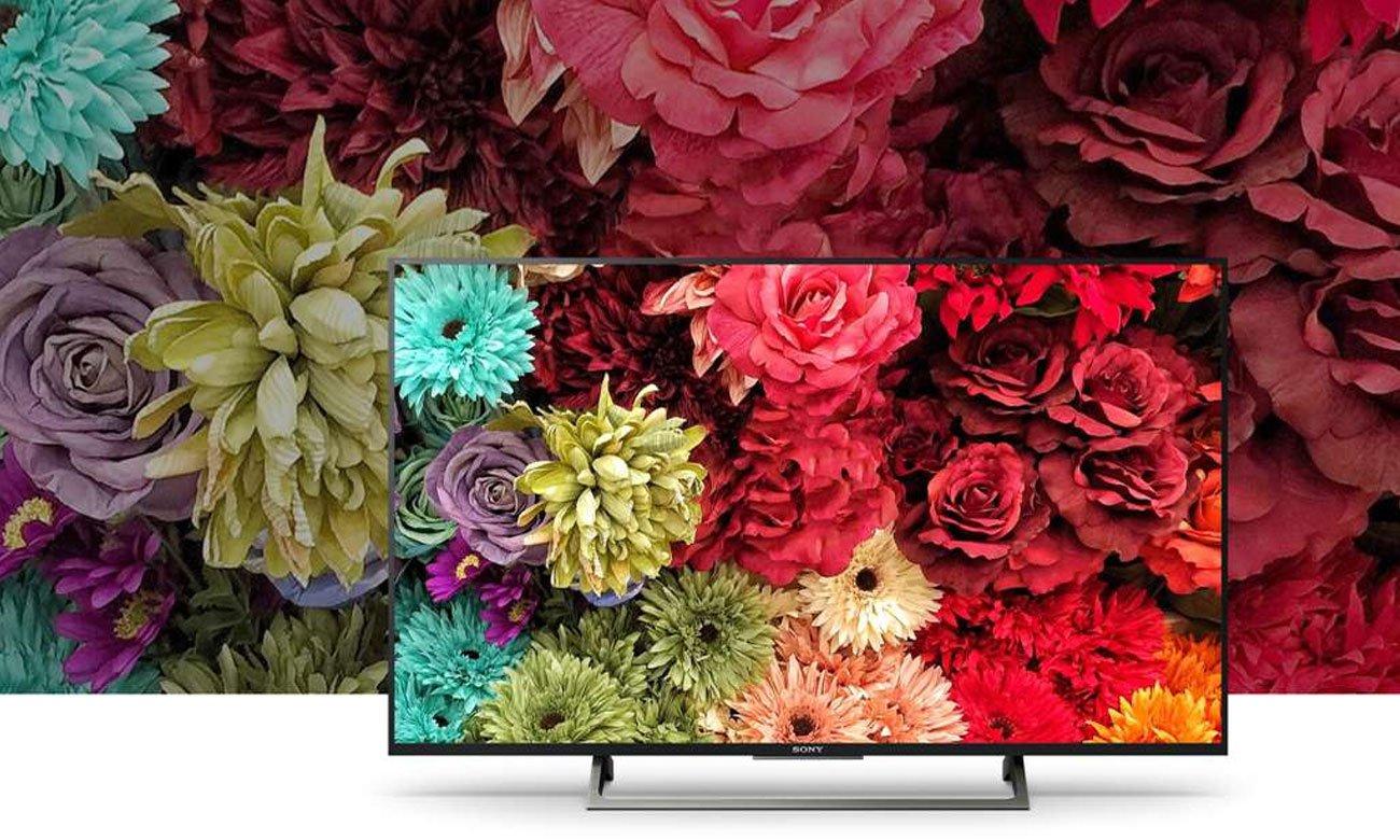 Telewizor Sony KDL-49WE750 z funkcja TRILUMINOS™