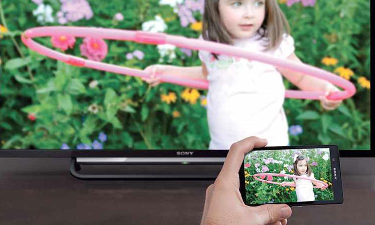 Telewizor Sony KDL-55W809C z funkcja Wi-Fi