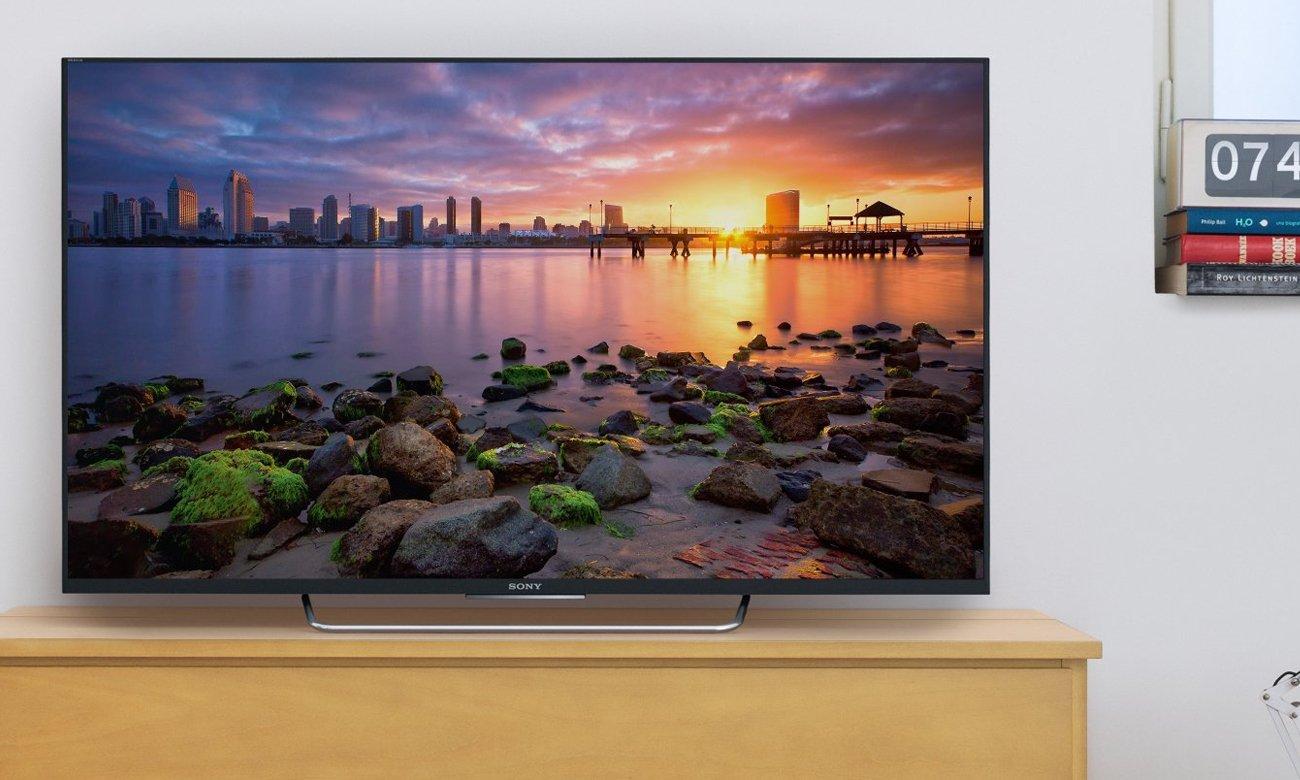 Wygoda sterowania telewizorem Sony KDL-55W809C