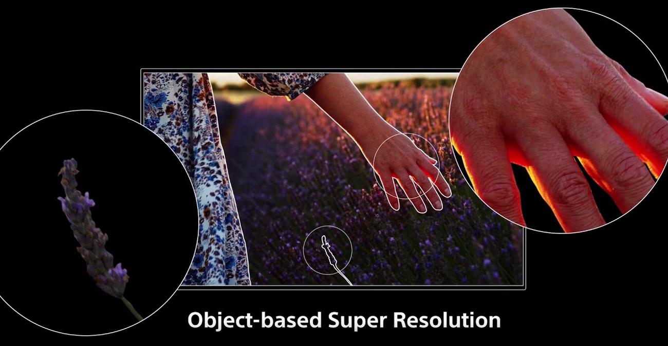 Technologia 4K X-Reality PRO w telewizorze OLED Sony OLED KE-55A89
