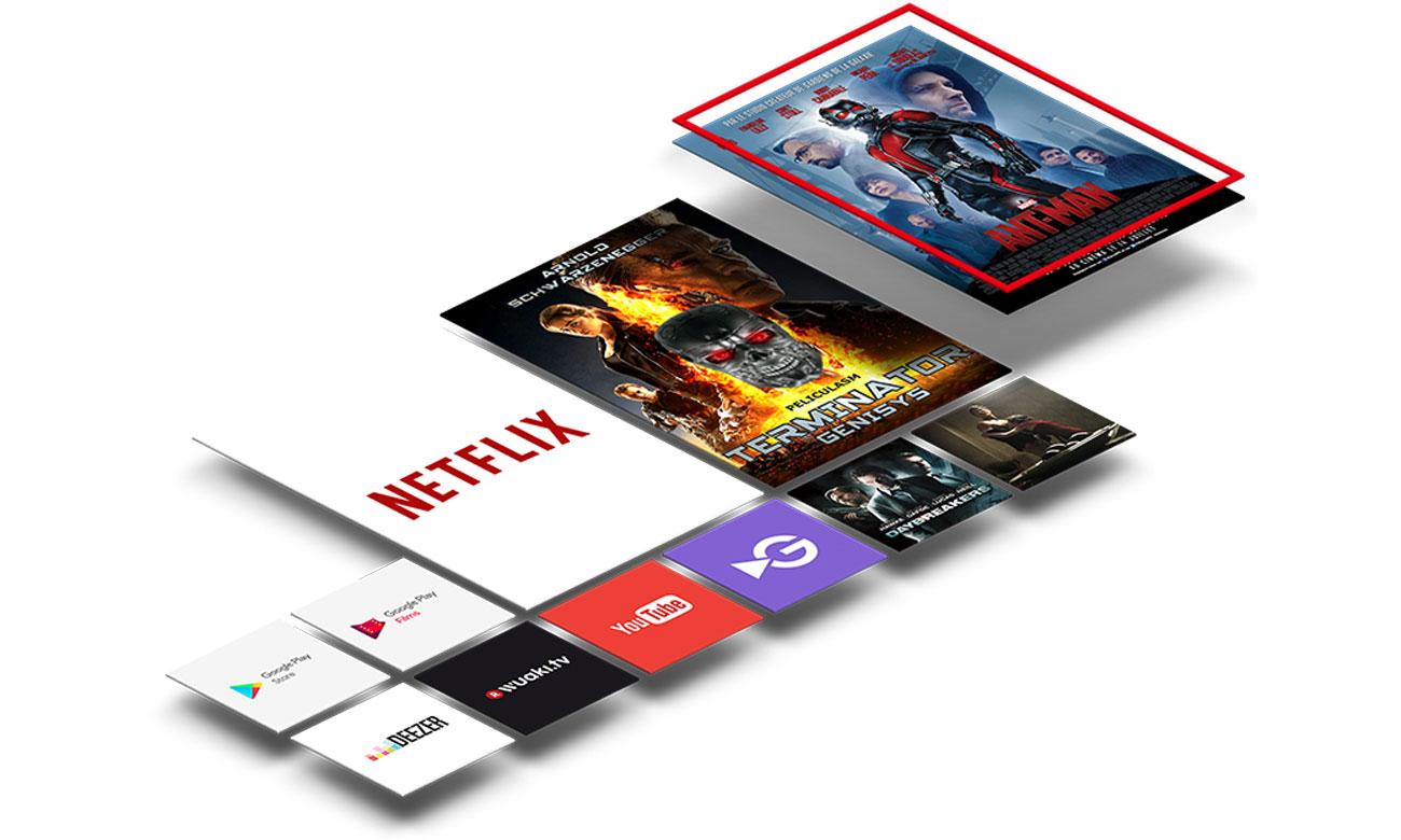Telewizor TCL U55X9006 Android TV