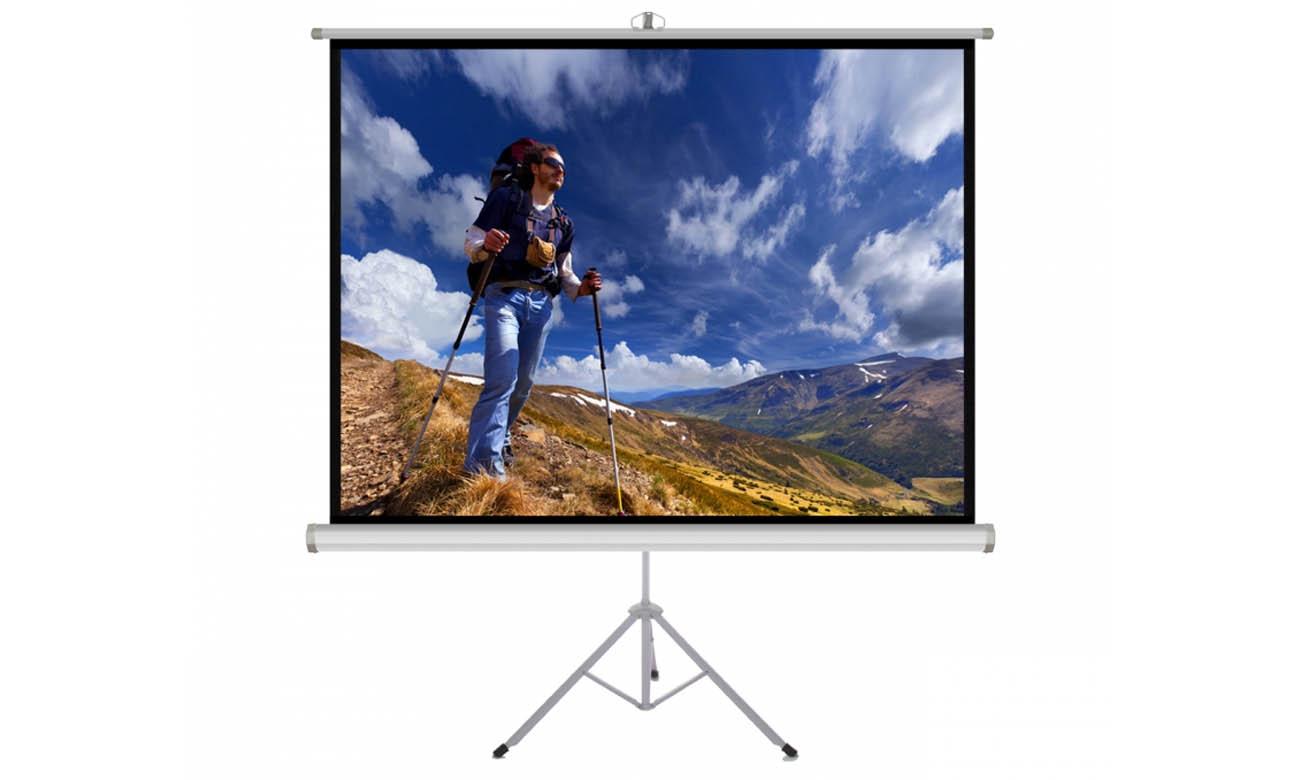 Ekran projekcyjny na statywie ART TS-100 4:3