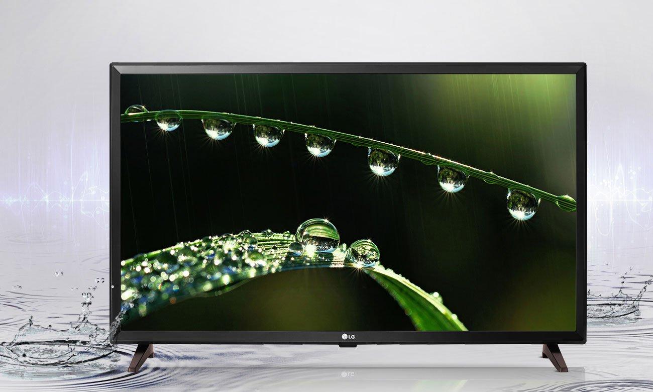 Telewizor LG 32LJ500V z systemem dźwięku przestrzennego