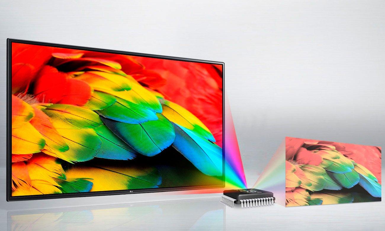 Procesor Triple XD Engine w tv LG 43LH570V