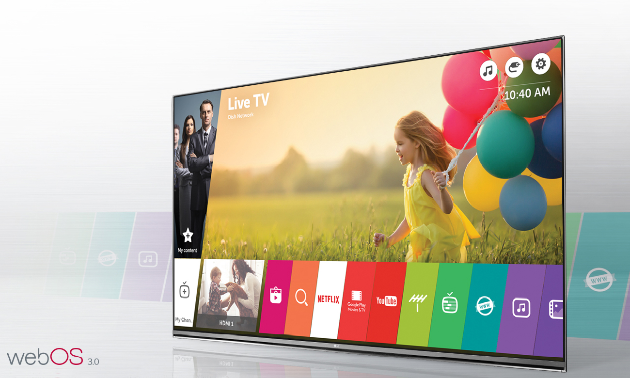 Telewizor Smart TV LG 43UH603V z systemem webOS 3.0