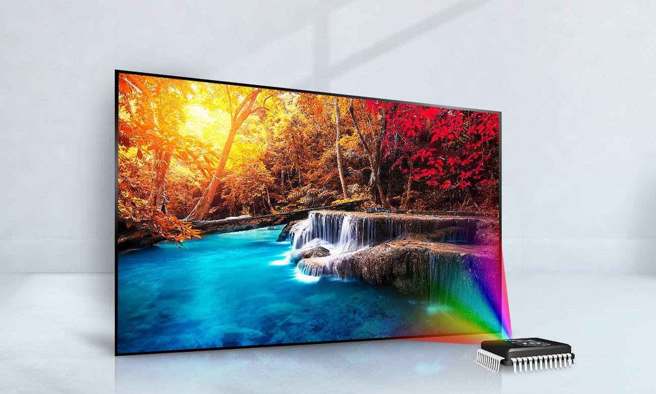 Wydajny procesor w telewizorze LG 49LJ515V