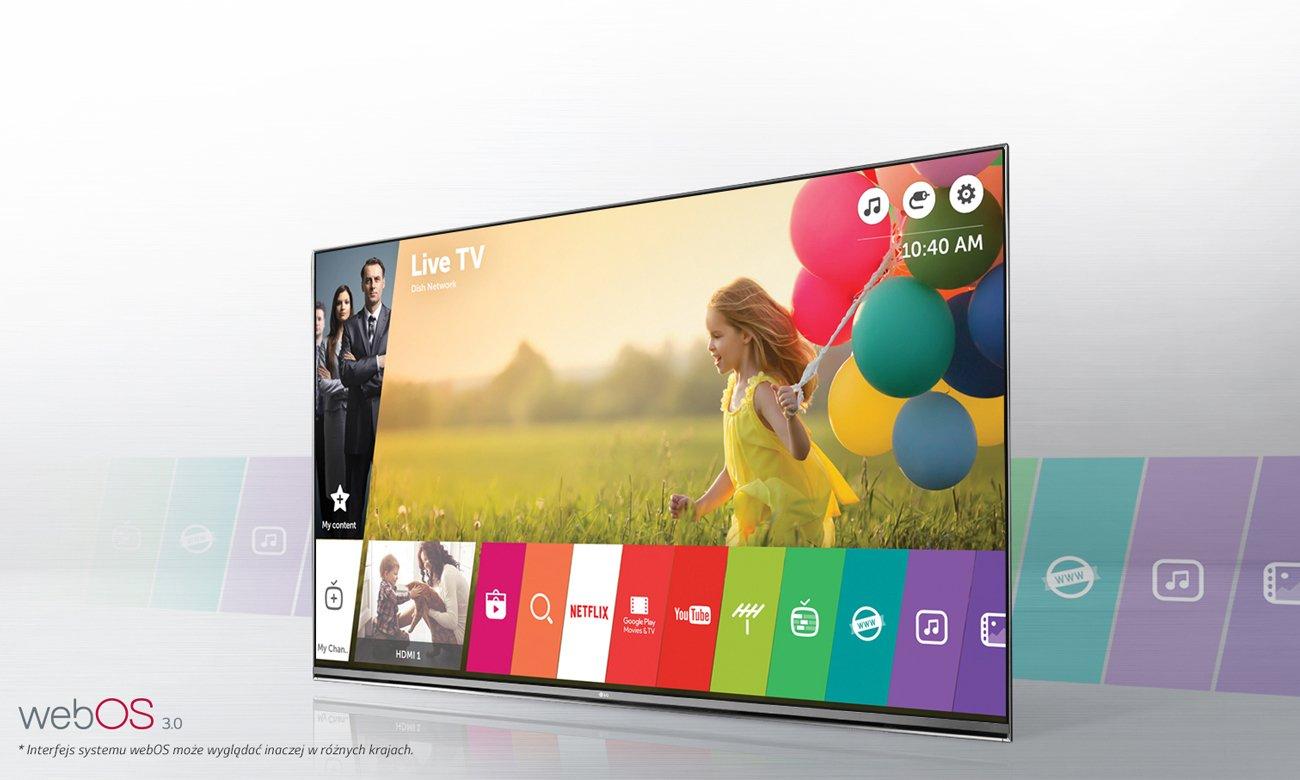 Telewizor Smart TV LG 55LH6047 z systemem webOS 3.0