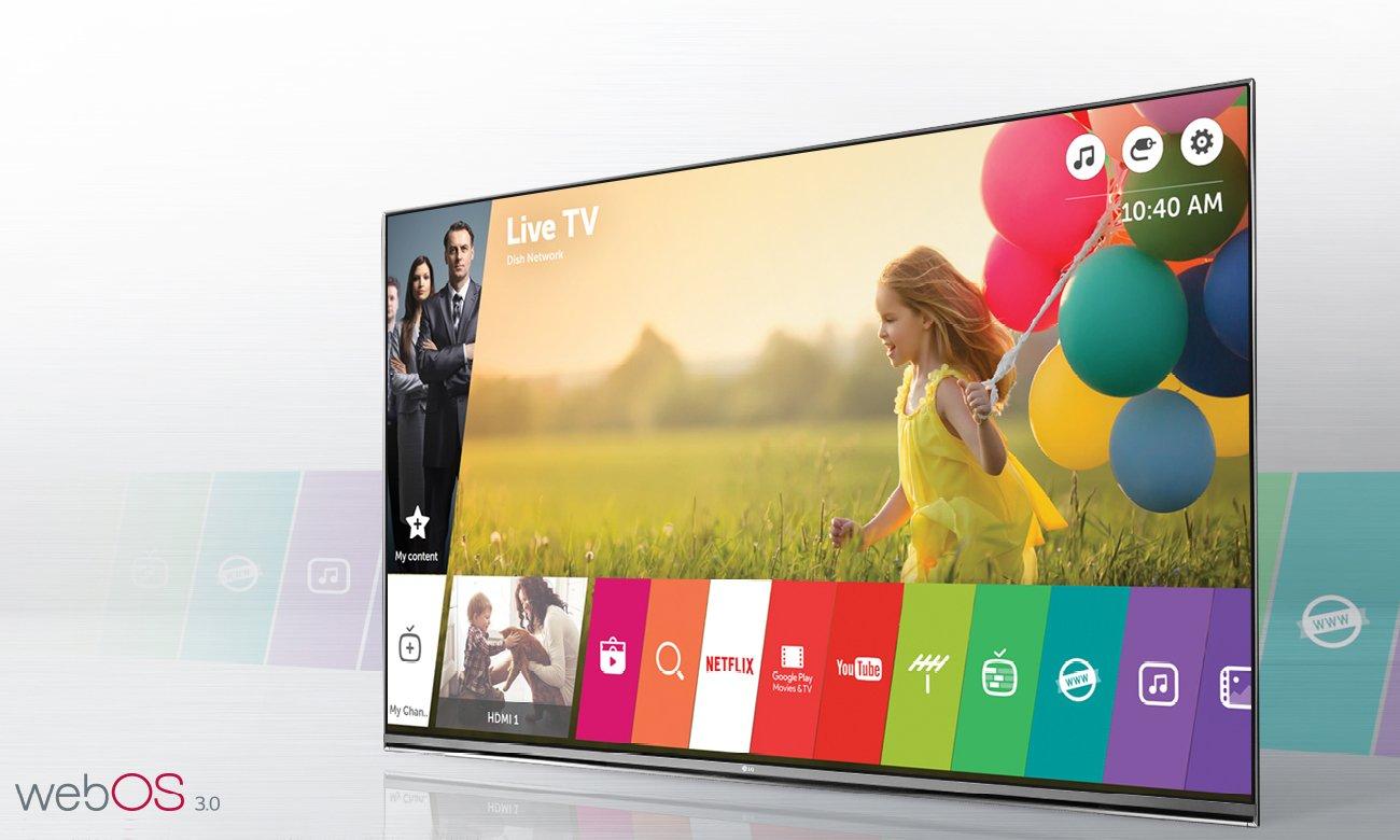 Telewizor Smart TV LG 55UH605V z systemem webOS 3.0