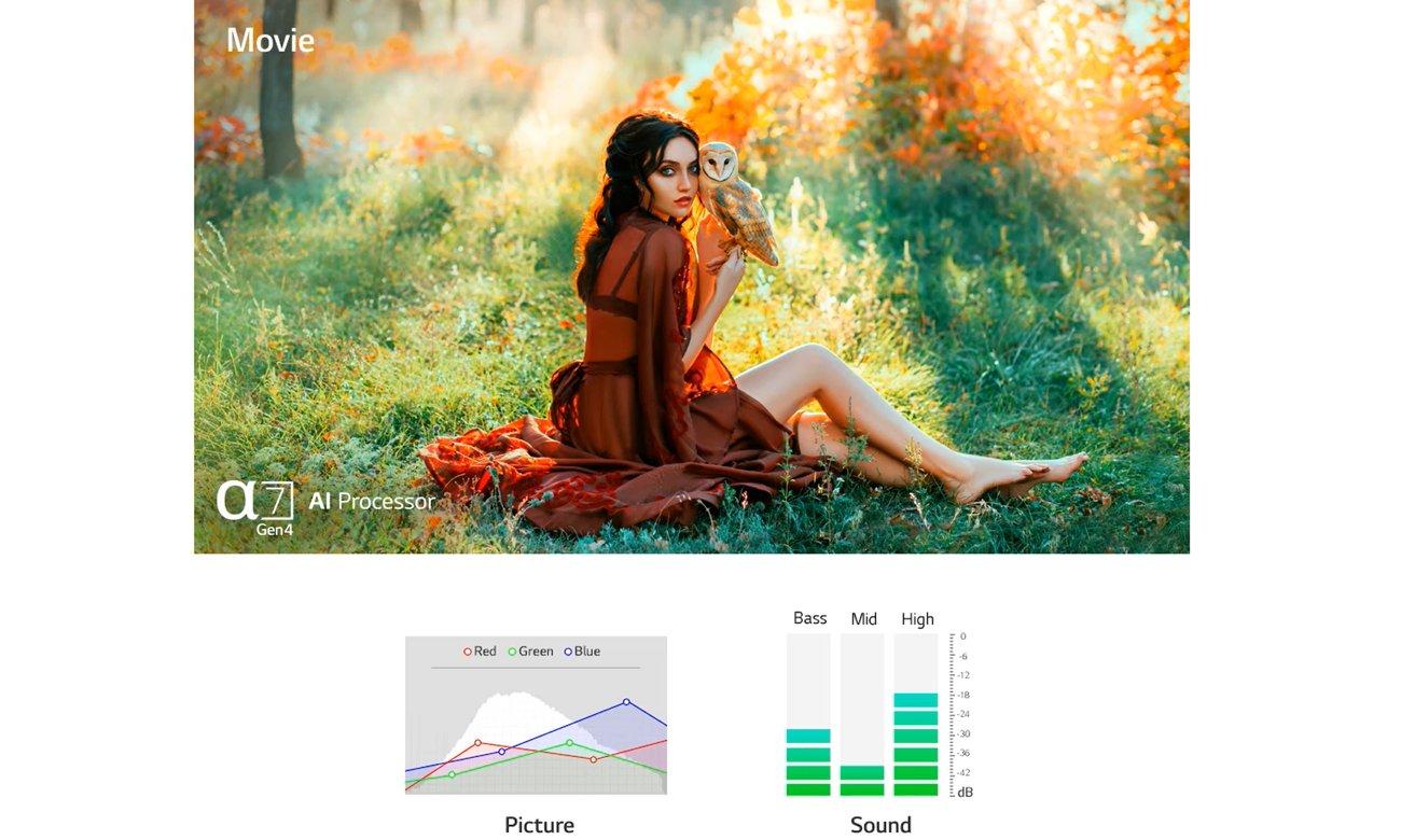 Perfekcyjny obraz z telewizorem OLED LG OLED55B13LA