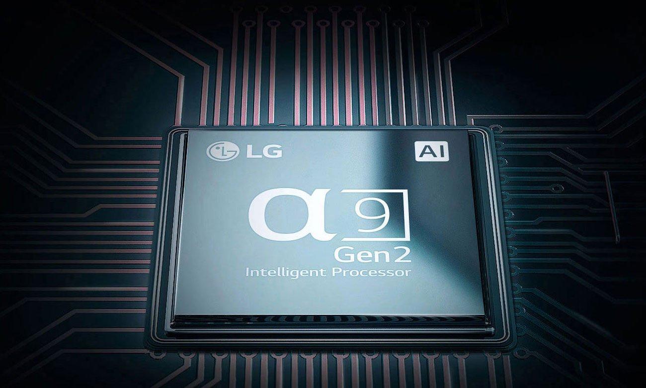 Procesor w telewizorze OLED LG OLED55E9