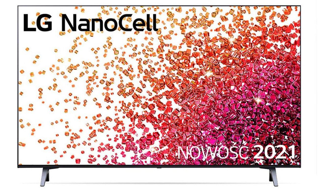 Telewizor LG 43NANO753PA z technologią NanoCell