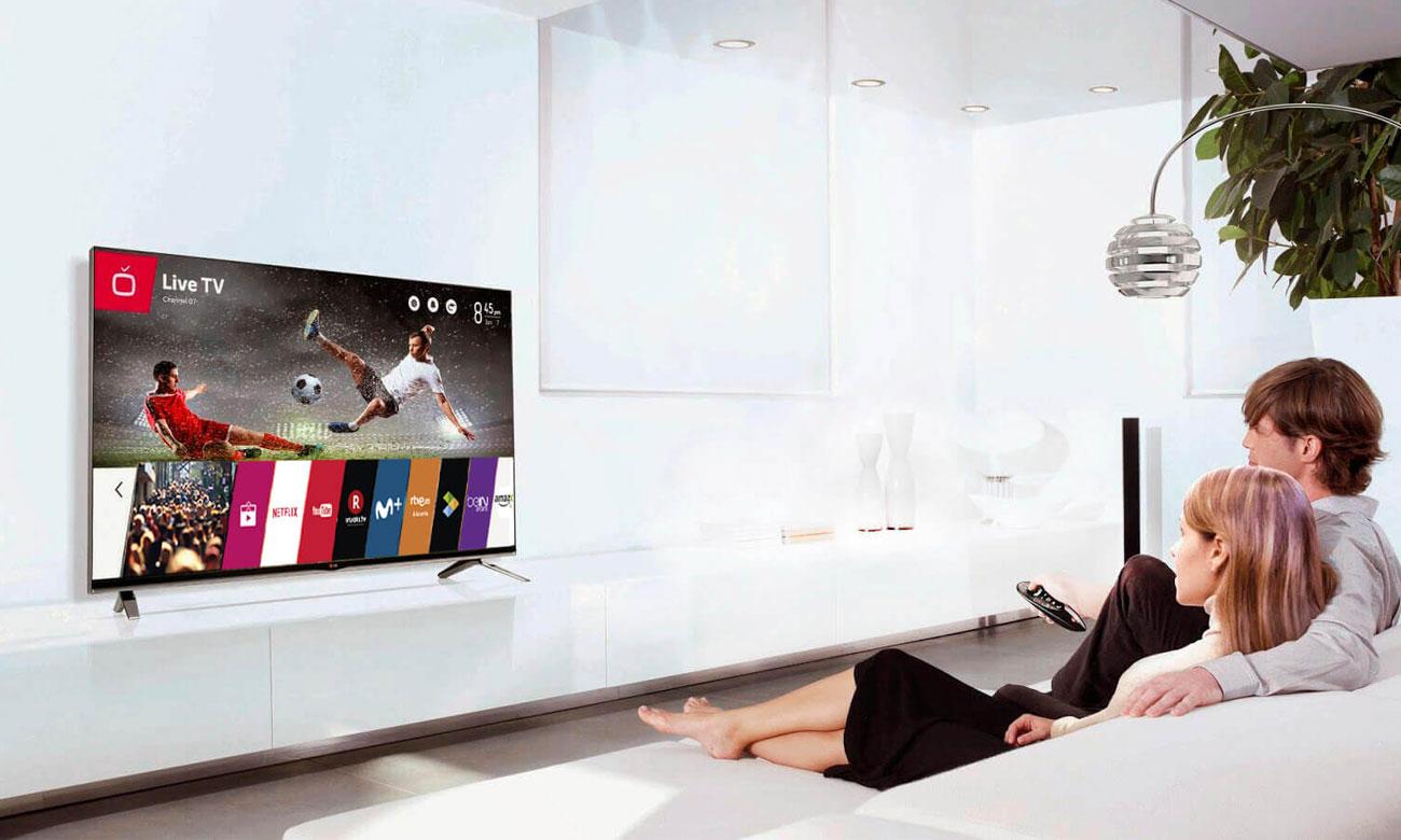 Telewizor LG 49LJ594V z łącznościa Wi-Fi