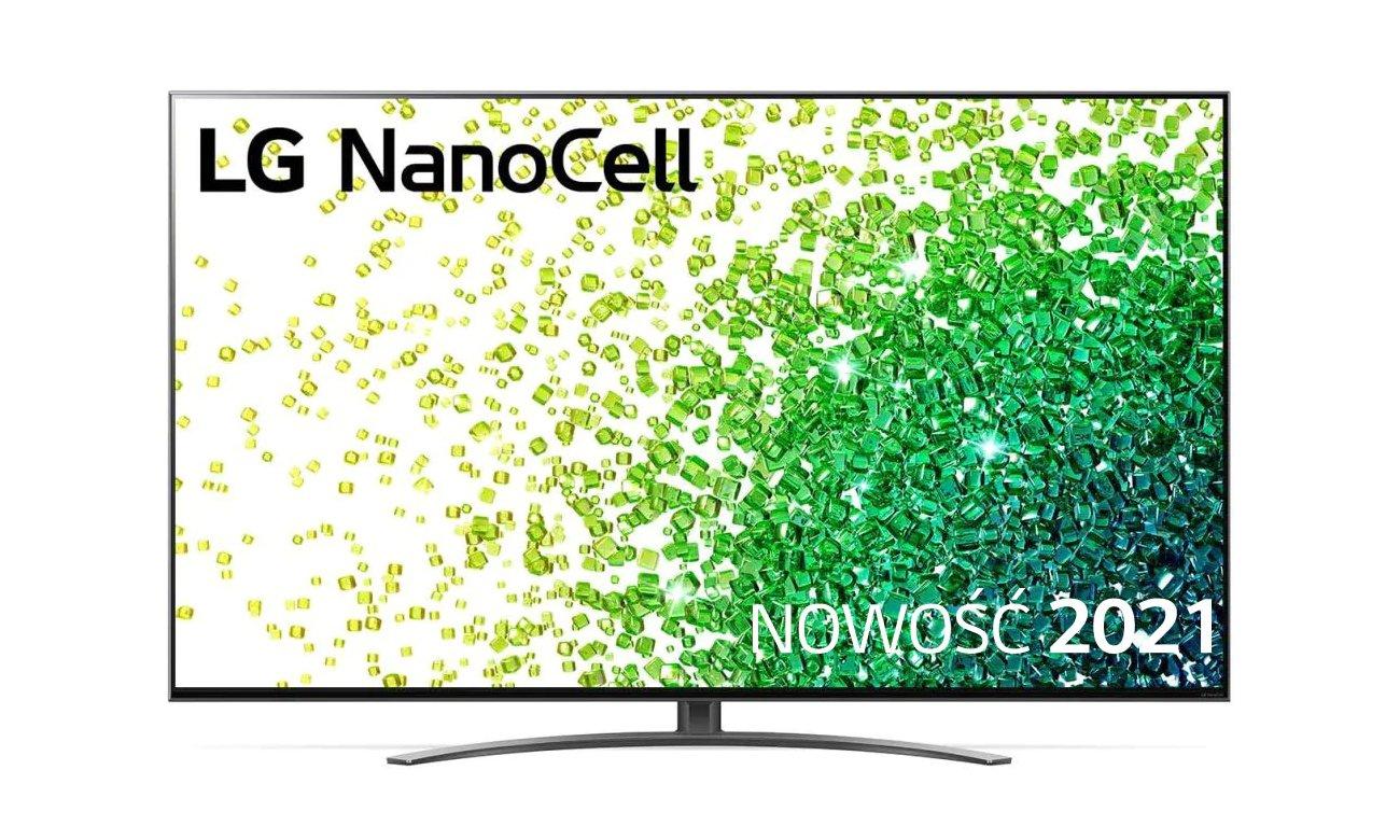 Telewizor LG 50NANO863PA z technologią NanoCell
