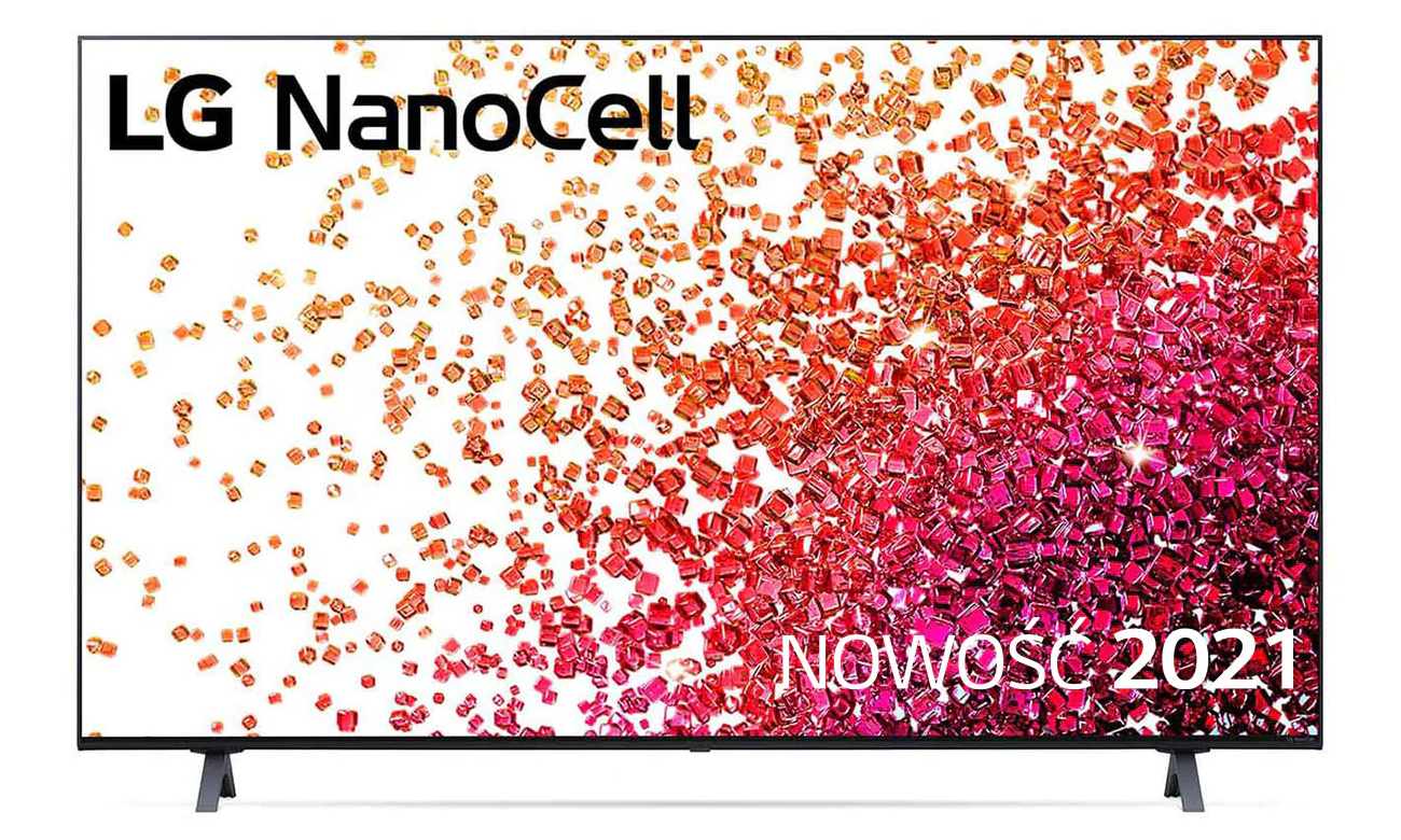 Telewizor LG 55NANO753PA z technologią NanoCell