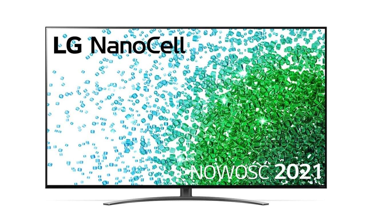 Telewizor LG 55NANO813PA z technologią NanoCell