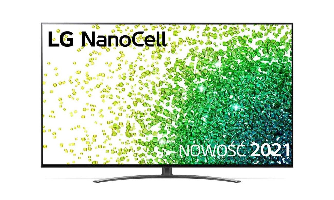 Telewizor LG 55NANO863PA z technologią NanoCell
