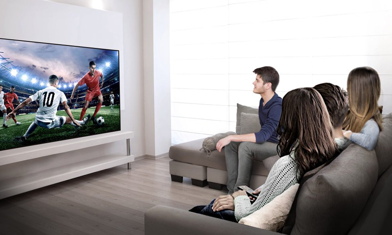 Telewizor LG 55UJ620V z łącznościa wi-Fi i Bluetooth