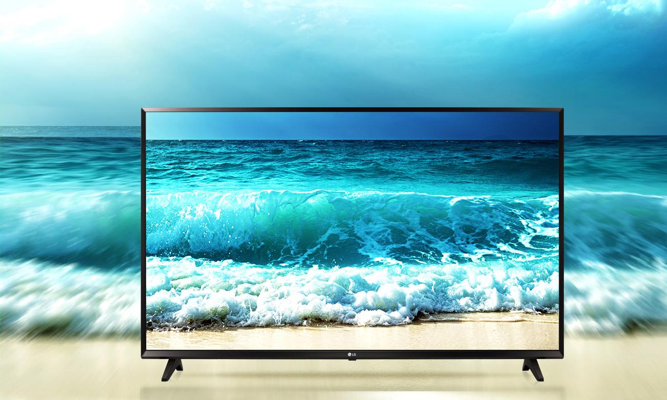 Telewizor LG 55UJ620V z dźwiękiem przestrzennym