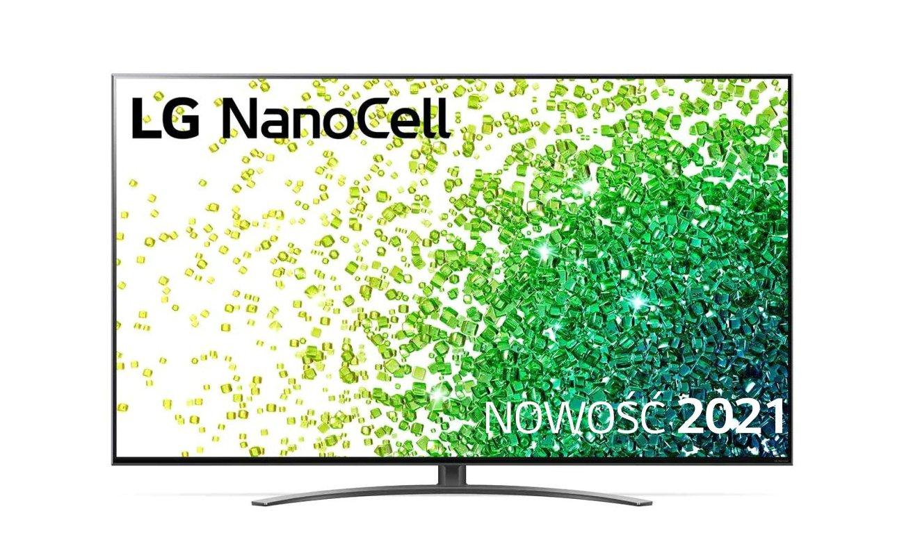 Telewizor LG 65NANO863PA z technologią NanoCell