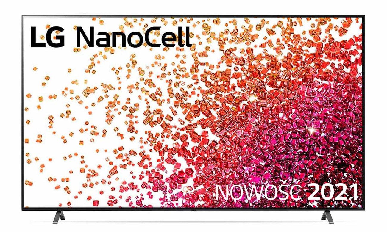 Telewizor LG 75NANO753PA z technologią NanoCell