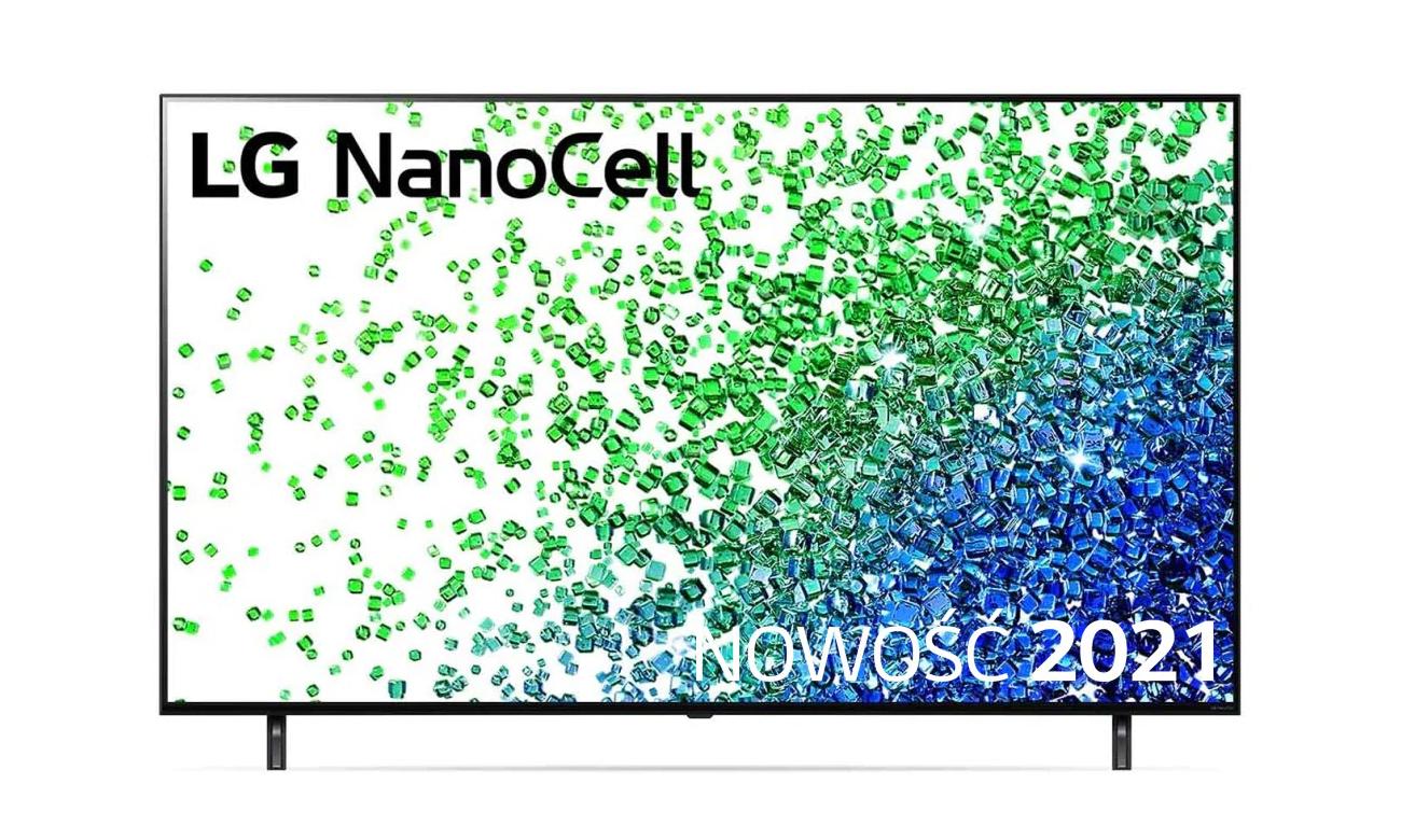 Telewizor LG 75NANO803PA z technologią NanoCell