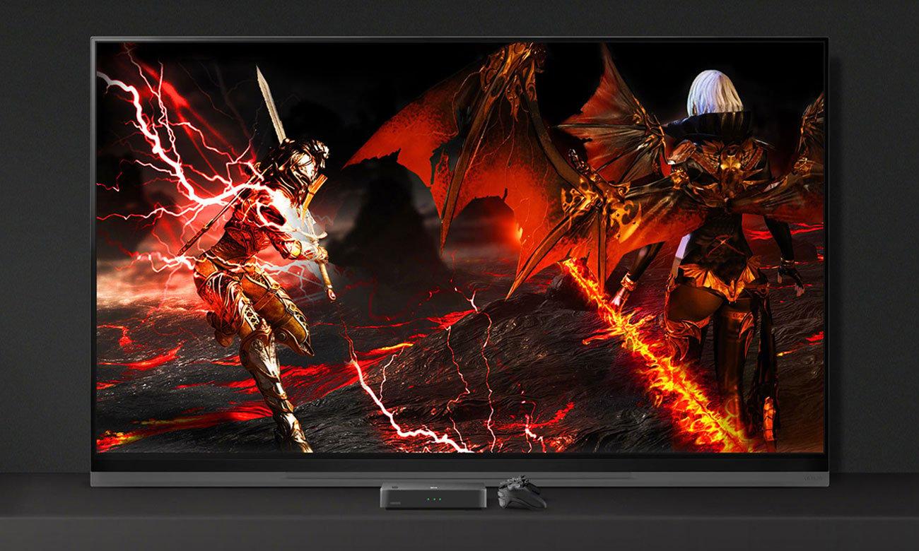 Telewizor z kródkim czasm reakcji OLED55E9 LG dla graczy