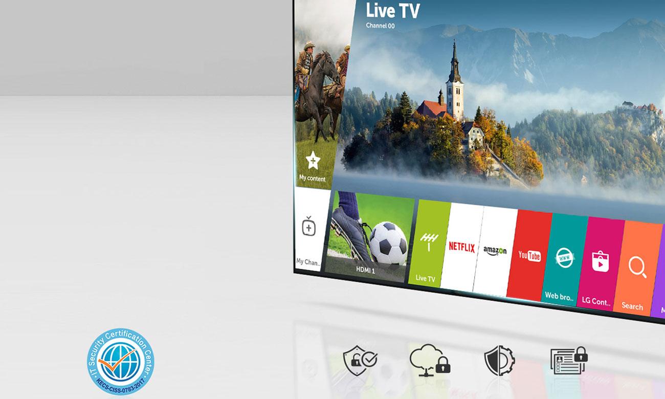 Telewizor 4K HDR OLED65B8 LG z systemem webOS