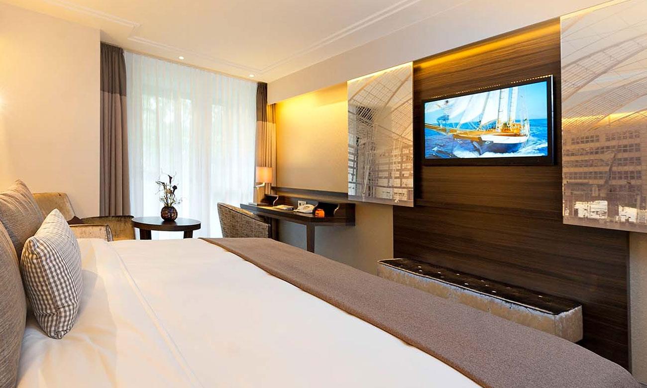 Klasa energetyczna i tryb hoteloewy w tv Manta LED4004T2 PRO