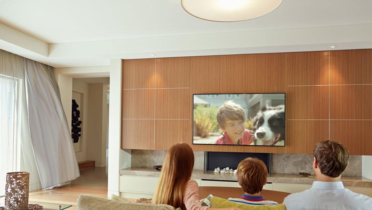 Wysoka jakość obrazu na ekranie Philips 40PFH4101