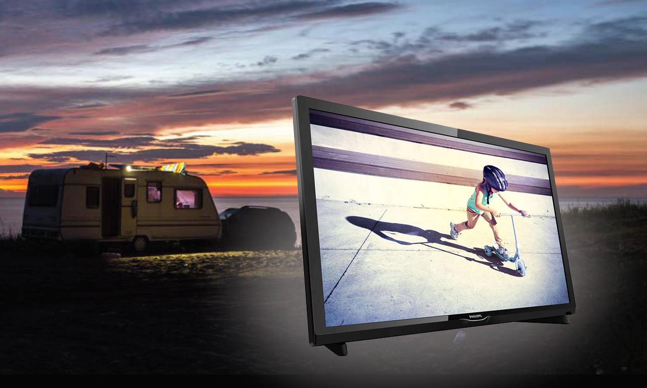 Niewielki telewizor Philips 22PFS4232